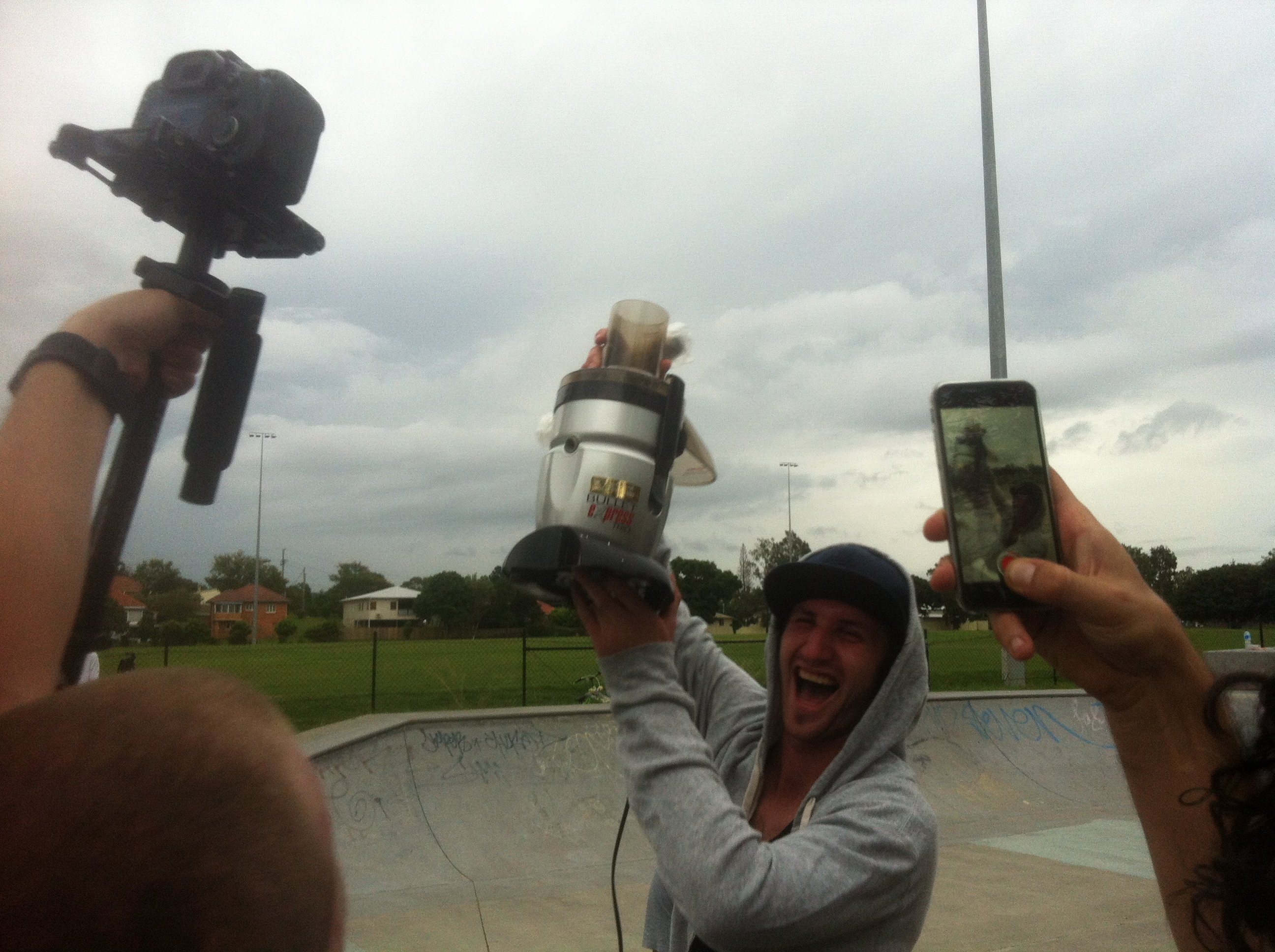 Tom Scofield Best Trick Winner