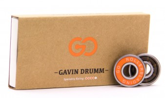 Gavin Drumm pro bearings available now from the Go Project, wheels and more soon