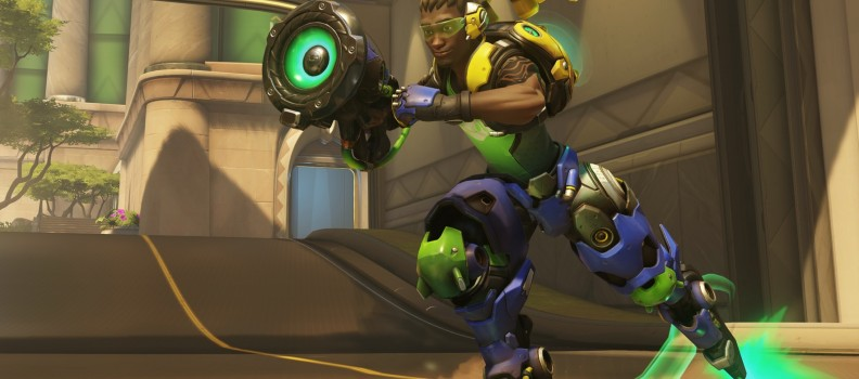 Blizzard's new game Overwatch features a rollerblading character straight from the 90s