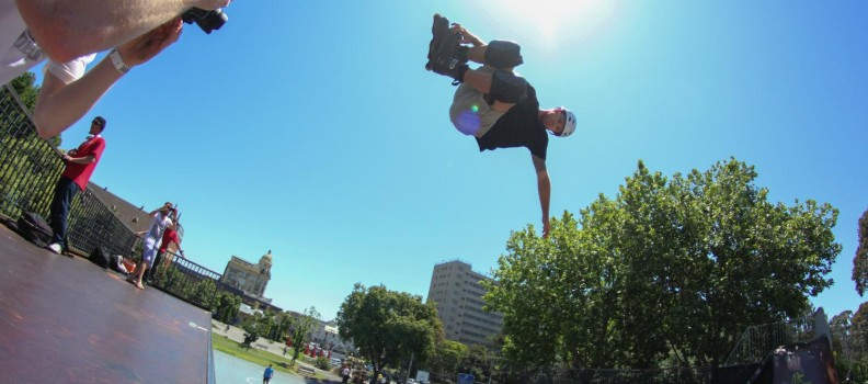Official review of the Victorian Rollerblading Titles 2014 at Prahran Skate Park