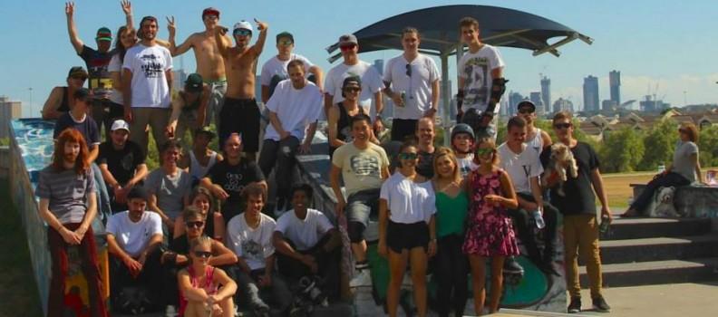 Melbourne Rollerblading hosts the 2015 Clifto Skate Jam at Clifton Hill Skate Park