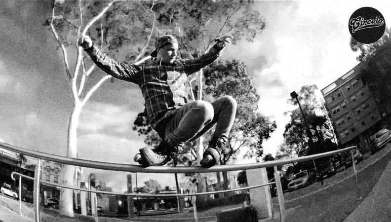 Melbourne's Martin Gade shreds hard on one rail in his new edit for Circolo Wheels