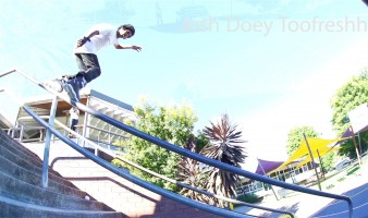 Bayside Blades welcomes Melbourne's Josh Doey Toofreshh as new team rider