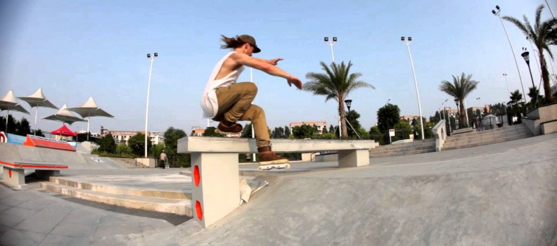 Quick clips with the VC team at Guangzhou in China – the biggest skate park in the world