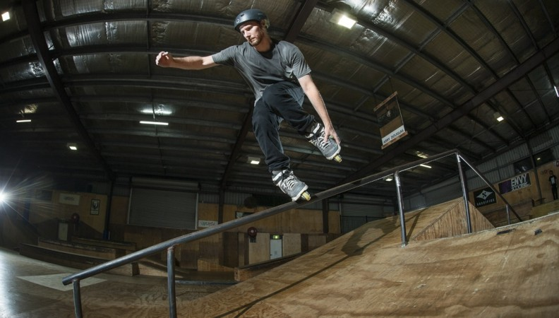 Brisbane's rollerblading scene is booming: Amazing shots from Wednesday RampAttak sessions
