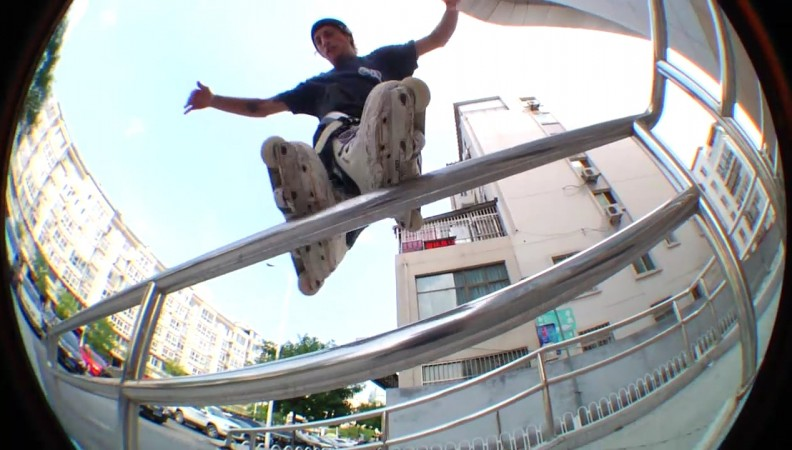 Brisbane's Paulie Haack drops new video of his adventures in China: edit by Mitchell Macrae