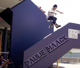 12 months of skating across Brisbane's iconic street spots from Paulie Haack