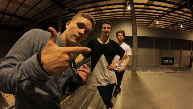Quick clips with the Razors crew at Australia's biggest indoor skate park in Geelong