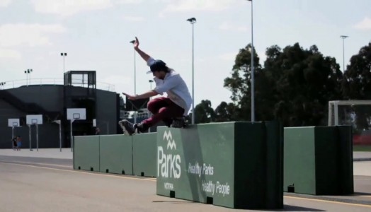 Tom Scofield is on fire in his new Melbourne Street Edit 2015 by Thomas Dalbis