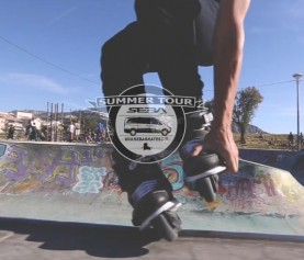 CJ Wellsmore travels through France in the SEBA Street Summer Tour Episode #2