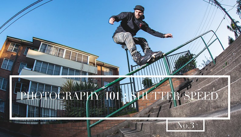 Learn about rollerblading photography with Adam Kola and Chris Haffey in Sydney