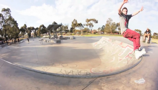 Kal Crew drops awesome park edit from Tom Scofield in his new home in Melbourne